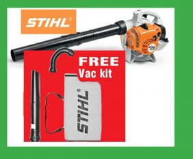 Latest Offers Stihl Blower with free vac kit deal